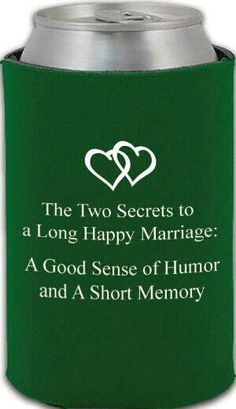 The Two Secrets to a Long Happy Marriage: A Good Sense of Humor and a Short Memory. Powered by www.myweddingbazaar.com