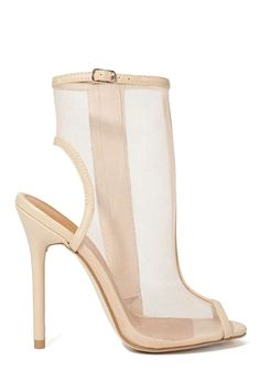 Shoe Cult Sheer Madness Bootie