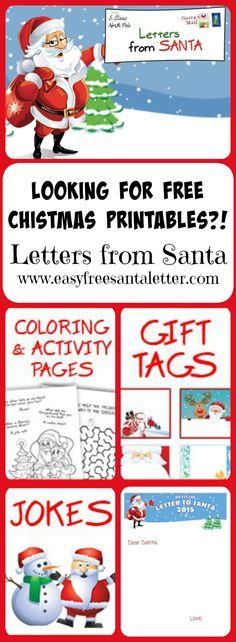 Letter from santa christmas letter santa letter gift idea for letter from santa christmas letter santa letter gift idea for kids christmas printables personalized letter from santa claus download pinterest spiritdancerdesigns