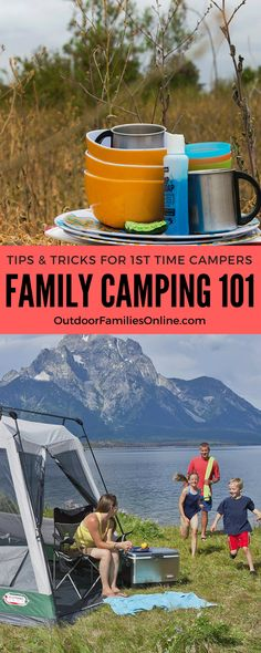 Family camping is a wonderful way to experience the outdoors. Val Joiner has tips and important information for those venturing out for the first time. Camping With Teens, Camping 101, Family Camping, Tent Camping, Travel With Kids, Outdoor Camping, Family Travel, Camping Style, Get Outdoors