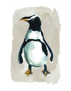 Penguin Wall Art Prints by Betty Hatchett   Minted