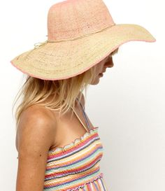 Sun hat. i want one of these this year.