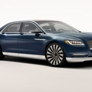 Lincoln Continental Concept Front Three Quarter
