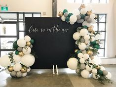 PartyWoo Green Gold and Gray Balloons 60 pcs 10 inch Party Balloons, Gray White Balloons, Dark Green Balloons, Matallic Balloons for Wedding Birthday Party Decorations, Baby Shower Decorations, Wedding Decorations, Wedding Backdrops, Party Backdrops, Birthday Backdrop, Birthday Balloons, Baby Shower Photo Booth, Baby Shower Photos