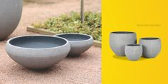 Green House - vaso concreto e fibra de vidro