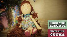 11/09/2014 - Boneca em Biscuit (Emilaine Cunha)