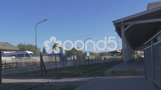Arrival of the train at the station of La Calera - Stock Footage | by BucleFilms