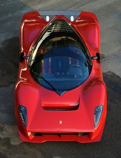 Phenomenal 2006 Ferrari P4/5 Pininfarina. I nearly stepped on the front bumper of this car at a rally.