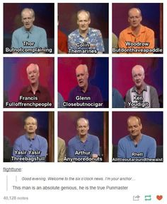 Pun Master. Whose Line Is It Anyway?