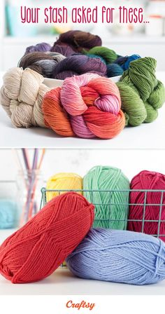 Warning: It's hard to say no to these clearance yarns. Then again, who says that's a bad thing? Browse great deals on your favorite brands and give yourself as well as your stash a much-deserved treat.