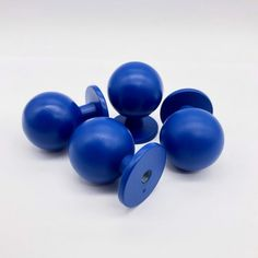 Blue Round Cabinet Knobs Cabinet Pulls Drawer Pulls Drawer   Etsy Drawer Knobs, Cabinet Knobs, Drawer Pulls, Home Hardware, Knobs And Pulls, Wall Hooks, Decorating Your Home, I Shop, Drawers