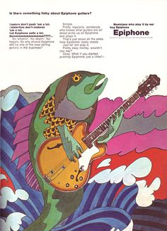 Epiphone advertisement (1967). Is There Something Fishy About Epiphone Guitars?