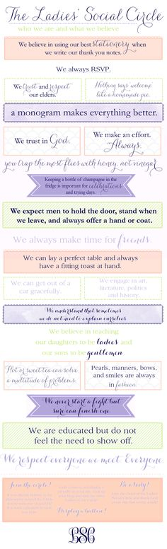 the ladies social circle
