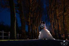 Photos réalisé en mariage à la nuit tombée - Wedding photography by night #wedding #photography #mariage #photos #night #nuit #lafermedestempliers