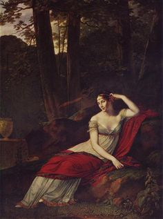 Retrato de la emperatriz Josephine, 1805. Romanticismo - Pierre Paul Prud'hon