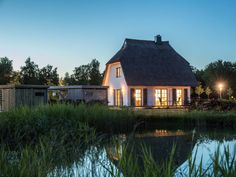 Abendstimmung am Teich