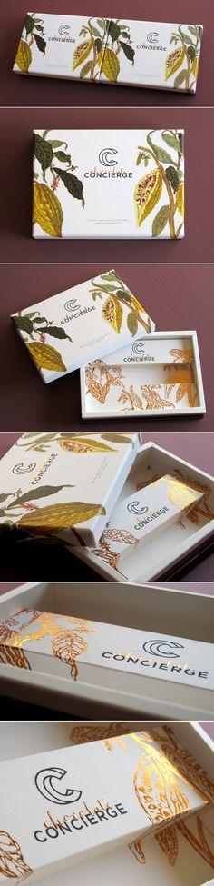 Chocolate Concierge — The Dieline | Packaging & Branding Design & Innovation News