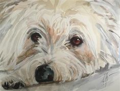 """Daily Paintworks - """"Missing you"""" - Original Fine Art for Sale - © Annette Balesteri"""