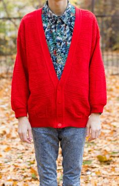 Vintage Men's Cardigan Sweater by Norm Thompson Extra large Only ...