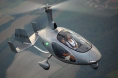 Cavalon, the first side by side gyro made by Autogyro of Germany.
