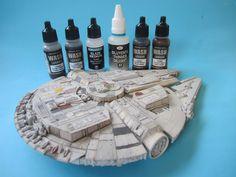 Studio Gekko: 1/144 Millennium Falcon by Fine Molds Pt 4.