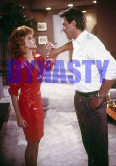 DYNASTY #11535,EMMA SAMMS,JOHN JAMES,tv photo,THE COLBYS Dynasty Tv Show, Der Denver Clan, Tv Shows, Celebrities, Spelling, Image, Colorado, March, Beautiful Women