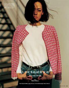 (via GINZA - 市川実日子さんが、失恋した女性が新たな一歩を踏み出すまでを演じたファッションストーリー「五月になれば彼女は」。ページご…)