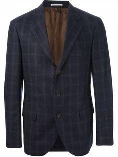 Pick of the Day: Brunello Cucinelli checked suit - http://www.mnswr.com/pick-of-the-day-brunello-cucinelli-checked-suit/
