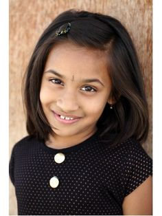Indian Girl's Medium Hair Styles