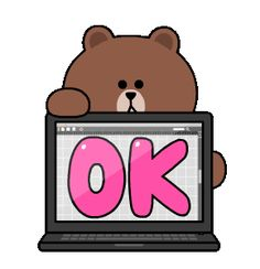 BROWN & FRIENDS Workplace Stickers Cute Cartoon Images, Cute Love Cartoons, Cartoon Gifs, Cartoon Art, Animated Clipart, Animated Icons, Bear Gif, Cony Brown, Love Cartoon Couple