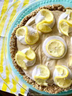 Lemon Delight Pie - PrettyPies.com