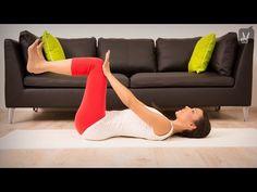 Pilates zur Rückbildung nach der Schwangerschaft - YouTube