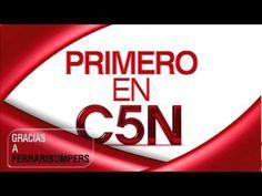 """Cortina musical """"PRIMERO EN C5N"""""""