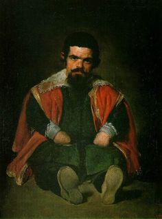 The Dwarf Sebastian de Morra  (90 Kb); Museo del Prado, Madrid