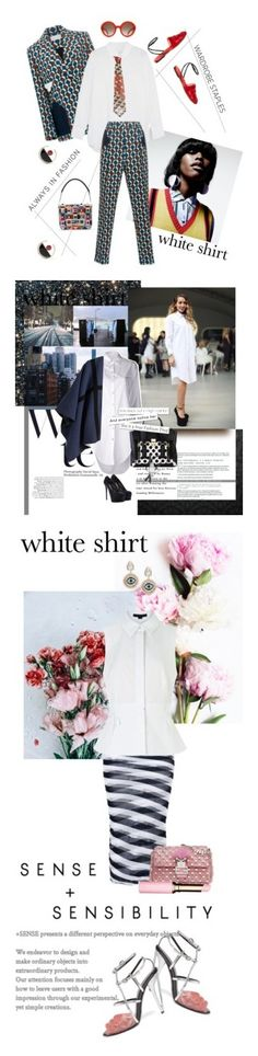 """""""Winners for Wardrobe Staples: The White Shirt"""" by polyvore ❤ liked on Polyvore featuring Equipment, RED Valentino, Alexander McQueen, Marni, Marco de Vincenzo, rag & bone, 3.1 Phillip Lim, Marc by Marc Jacobs, David Yurman and Burberry"""