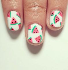 Summer fruit nail art inspiration