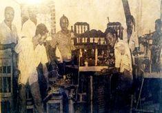 Aspecto de los talleres donde hacían labores los Internos de la Carcel de Valledupar / Foto: archivo Yarime Lobo Painting, Computer File, Woman, Artists, Pictures, Painting Art, Paintings