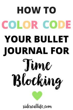 Feeling like there just isn't enough time in the day to get your tasks accomplished? Learn how to use time blocking in your bullet journal to maximize your productivity, create a schedule, reduce procrastination, and get more out of your day! Time blocking in your bullet journal helps keep track of all of your tasks and creates better time management skills.