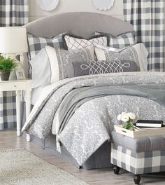Luxury Bedding by Eastern Accents - Hampshire Collection