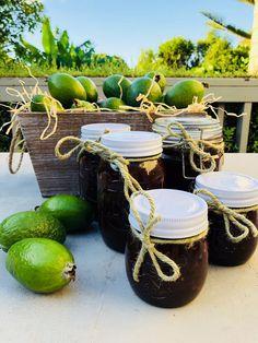 Fejoa Recipes, Jelly Recipes, Gluten Free Recipes, Chutney Recipes, Healthy Dishes, Permaculture, Preserves, Food To Make, Coconut