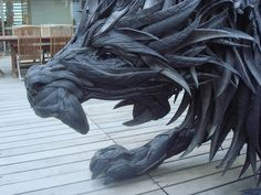 Recycled Art from tires!