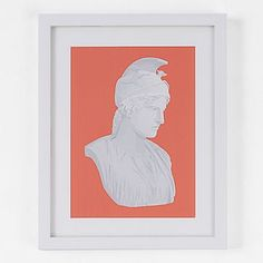Cool Art Print by Hunt Gather  Minted for west elm - Rome or Bust #westelm