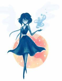 Lapis Lazuli by Saaally on DeviantArt, Steven Universe Fan Art, Steven Universe Lapis Lazuli, Belle Cosplay, Steven Univese, Universe Art, Star Vs The Forces Of Evil, Cool Art, Nice Art, Fandoms