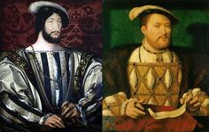 August 30th,1525 -' Treaty of the More' signed by Henry VIII of England and Francis I of France. England agrees to give up some territorial claims in France. In return, France was to pay a pension and was to prevent the Duke of Albany from returning to Scotland.