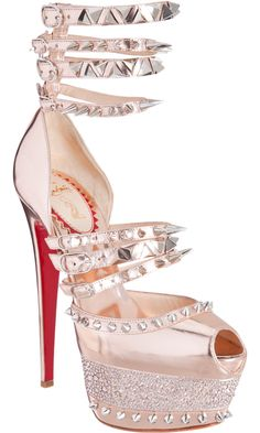 Christian Louboutin Isolde..my dream shoes..I LOVE THESE SO MUCH THERE ARENT WORDS!!!