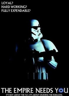 The Empire Needs You---a may zing! Why can't the US gov't be this straight with its people?