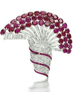 Diamonds and Rubies look great together, no matter the piece. GcF