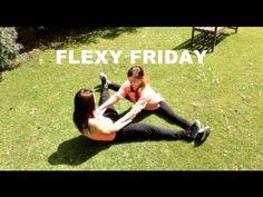 ▶ PARTNER STRETCHING EXERCISES | FLEXY FRIDAY - YouTube