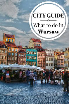City guide Warsaw Old town