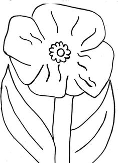 Poppy Flower Picture Coloring Page : Color Luna - Modern Poppy Template, Flower Template, Coloring Pages For Kids, Coloring Sheets, Template Site, Templates, Poppy Coloring Page, Veterans Day Coloring Page, California Poppy